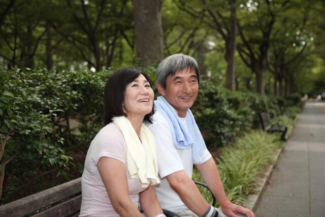 中年の夫婦